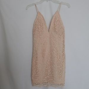 Forever 21 Thick Lace Bodycon Party Dress